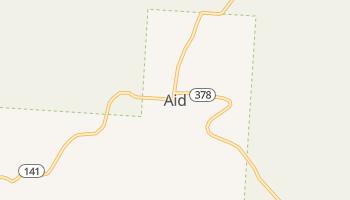 Aid, Ohio map