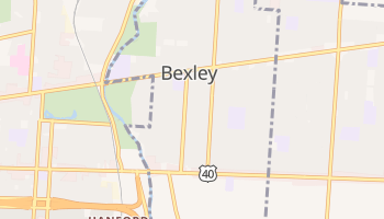 Bexley, Ohio map