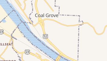 Coal Grove, Ohio map