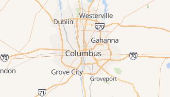 Columbus, Ohio map