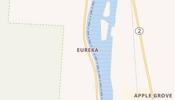 Eureka, Ohio map