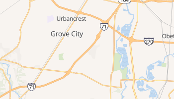 Grove City, Ohio map