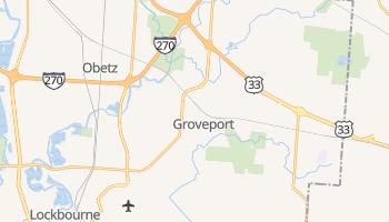 Groveport, Ohio map