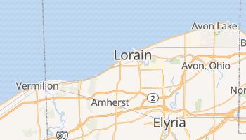 Lorain, Ohio map