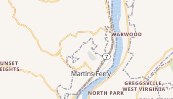 Martins Ferry, Ohio map