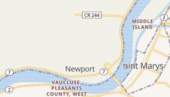Newport, Ohio map