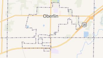Oberlin, Ohio map