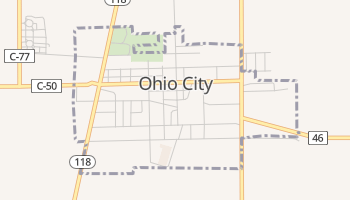 Ohio City, Ohio map