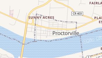 Proctorville, Ohio map