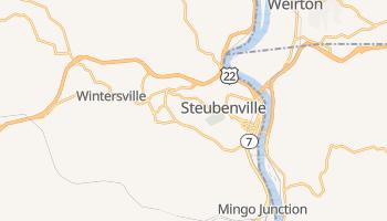 Steubenville, Ohio map