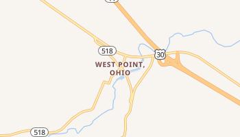 West Point, Ohio map