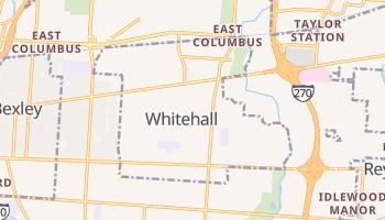 Whitehall, Ohio map