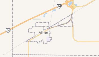 Afton, Oklahoma map