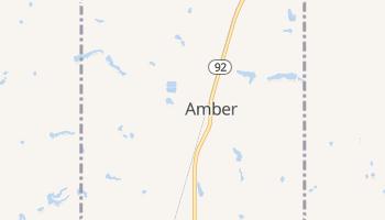 Amber, Oklahoma map