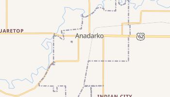 Anadarko, Oklahoma map