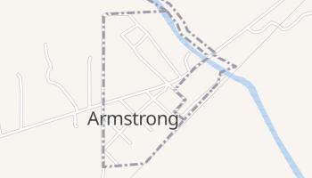 Armstrong, Oklahoma map
