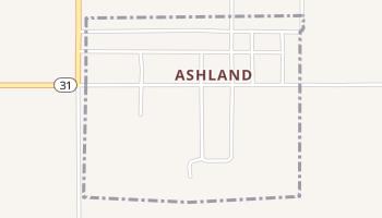 Ashland, Oklahoma map