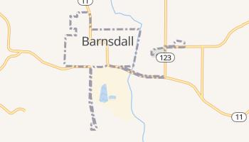 Barnsdall, Oklahoma map