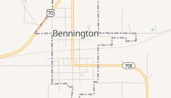 Bennington, Oklahoma map