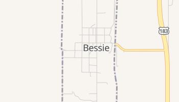 Bessie, Oklahoma map