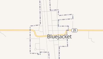 Bluejacket, Oklahoma map
