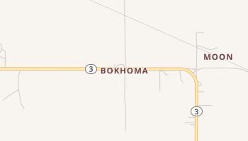Bokhoma, Oklahoma map