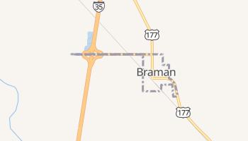 Braman, Oklahoma map