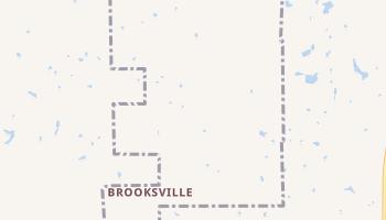 Brooksville, Oklahoma map