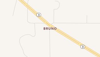 Bruno, Oklahoma map