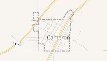 Cameron, Oklahoma map