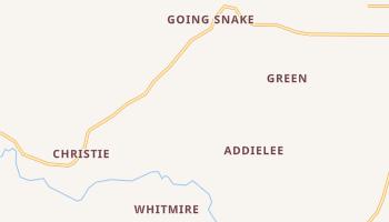 Christie, Oklahoma map