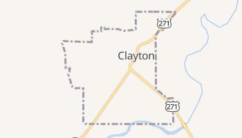 Clayton, Oklahoma map
