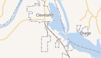 Cleveland, Oklahoma map