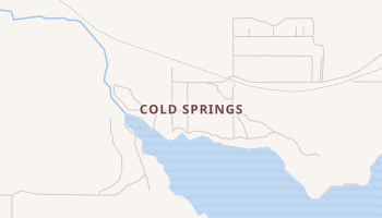 Cold Springs, Oklahoma map