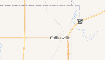 Collinsville, Oklahoma map