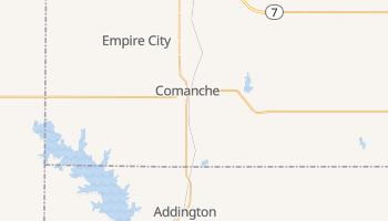 Comanche, Oklahoma map