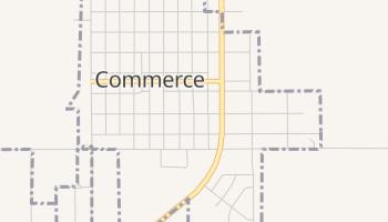 Commerce, Oklahoma map