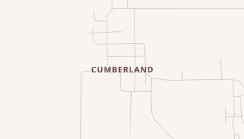 Cumberland, Oklahoma map