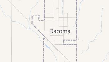Dacoma, Oklahoma map