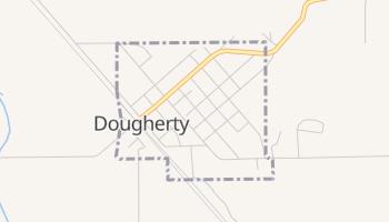 Dougherty, Oklahoma map