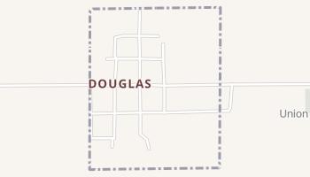 Douglas, Oklahoma map