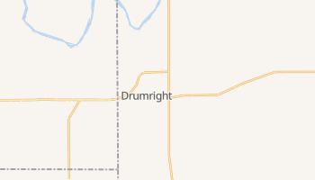 Drumright, Oklahoma map