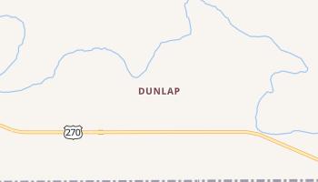 Dunlap, Oklahoma map