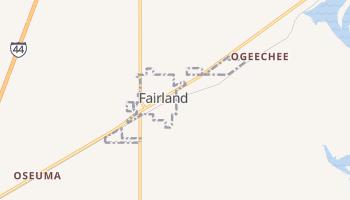 Fairland, Oklahoma map