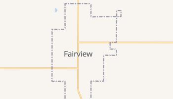 Fairview, Oklahoma map