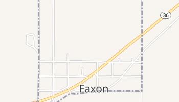 Faxon, Oklahoma map