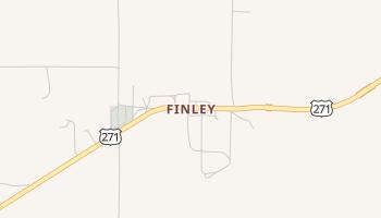 Finley, Oklahoma map