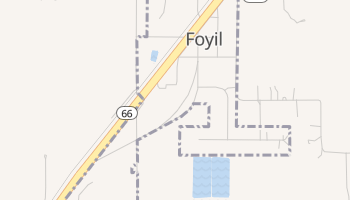 Foyil, Oklahoma map