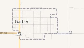 Garber, Oklahoma map