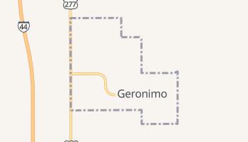 Geronimo, Oklahoma map
